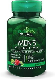 Puremark Men's Multivitamin Tablets, 60 Count