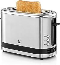 WMF Küchenminis 1 Schijf Broodrooster, Lange Sleuf, 7 Bruiningsniveaus, 600W, Roestvrij Staal, Mat