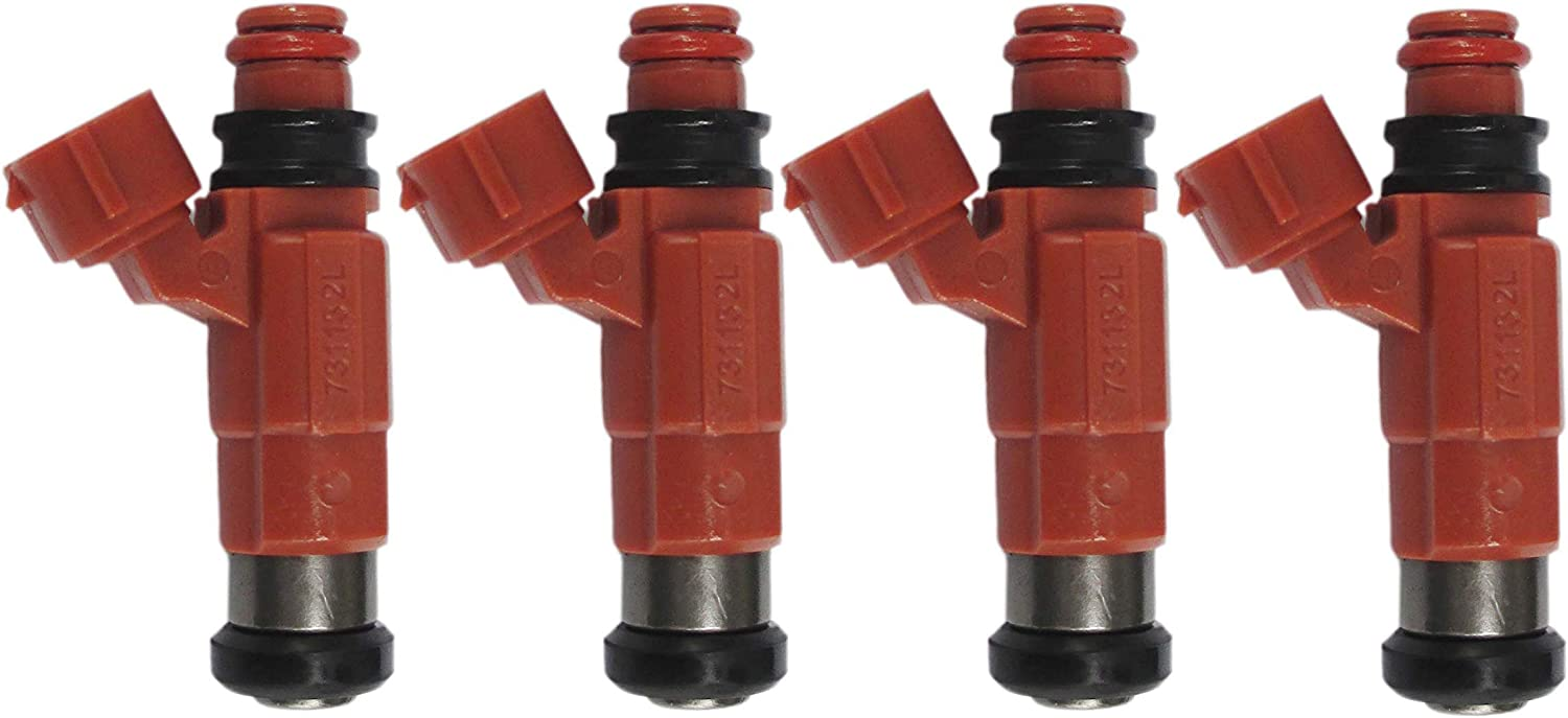 4Pcs New Fuel Injector For Yamaha Ranking TOP17 115 Large special price !! Mitsubishi Marine Outboard