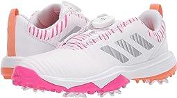 Footwear White/Shock Pink/Amber Tint