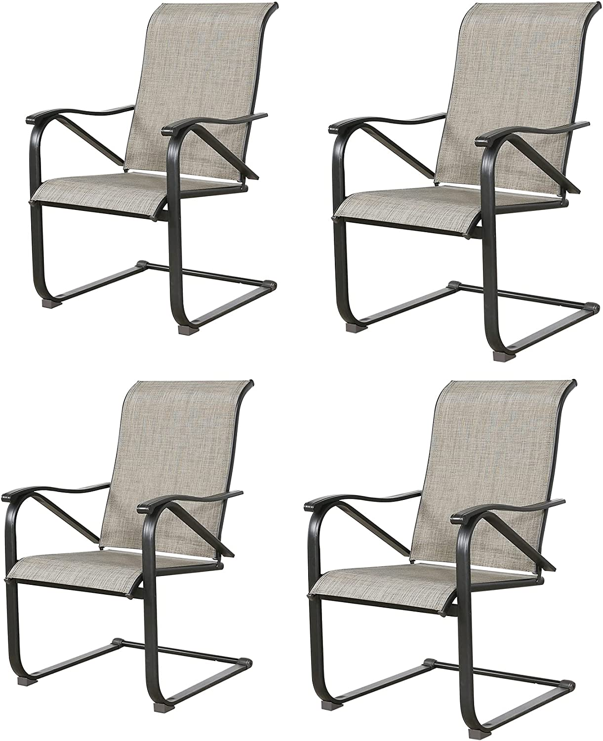 Patio Latest item Tree Outdoor Dining Chairs Motion Dinin Spring unisex Sling