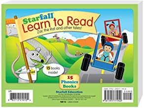 Starfall Learn to Read 15 Phonics Books by Starfall Education (2014-12-01)