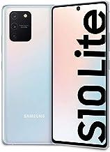 Samsung Galaxy S10 Lite - Smartphone 128 GB expandible, 8 GB de RAM, batería de 4500 mAh, 4G, Sim híbrido, Android 10, [versión italiana], Prism White