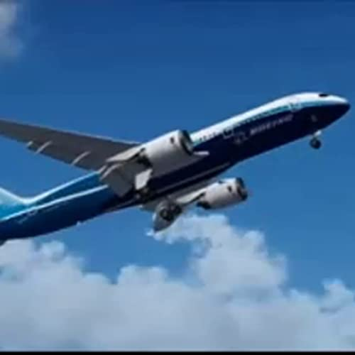 Boeing 787 Takeoff Live Wallpaper
