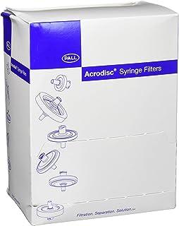 Pack of 50 Pall 4433 DMSO-Safe Acrodisc Syringe Filter with Nylon Membrane 25 mm Diameter 0.2 /µm Pore Size Sterile