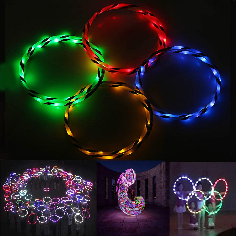 HTAIYN Buntes 90cm faltendes LED-Blitzlicht-Fitness-Übungs-Spielzeug popular (Farbe   Grün) B07MQKXCP3   Bekannt für seine hervorragende Qualität