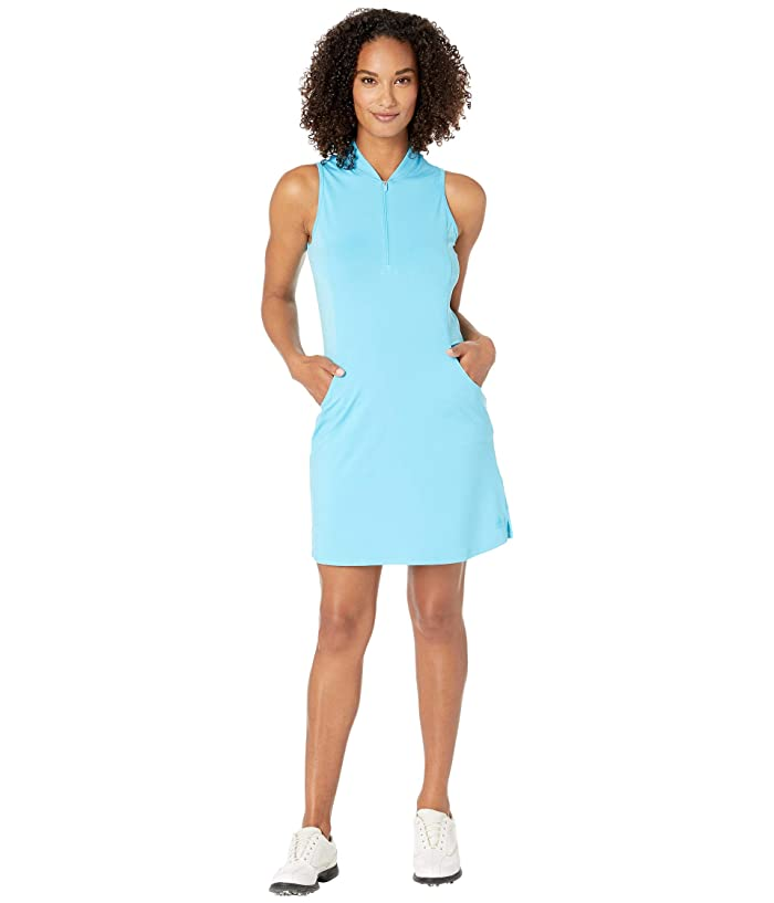 adidas Golf Rangewear Dress (Bright Cyan) Women