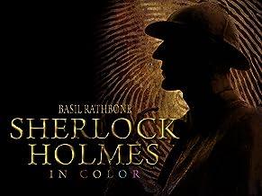 Basil Rathbone Sherlock Holmes in Color!
