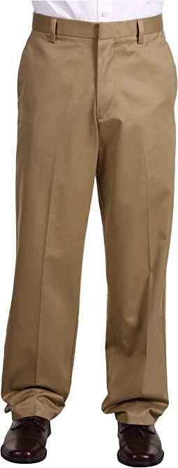 Signature Khaki D4 Relaxed Fit Flat Front