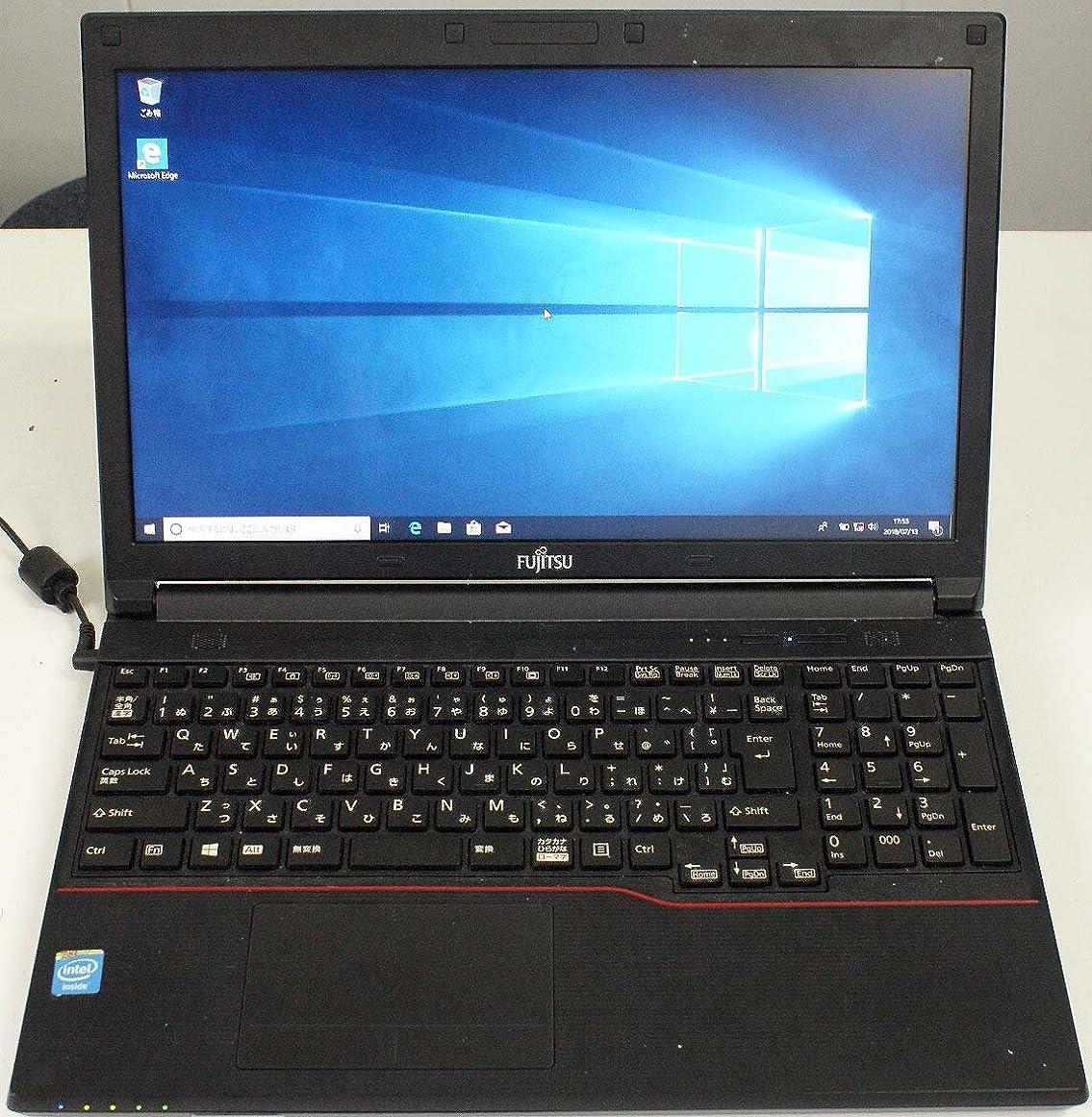 ロマンチック感心するスマートLIFEBOOK A553/G FMVA0300B Celeron B730(1.80G) RAM4G HDD320G DVDマルチ USB2.0 HD液晶(1366x768) Win10Pro(64bit) Wifi(USB) WPSオフィス付属