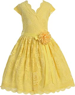 5ff03248 BNY Corner Flower Girl Dress Daily Casual Dress Easter Summer Pageant 9  Colors Available
