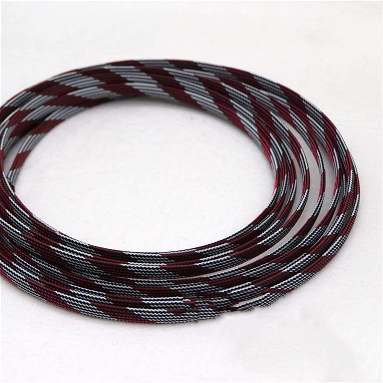 Cable Tidy Now on sale Sleeves Superlatite 1-50Meters Black Pink W Snakeskin White Mesh