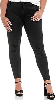 Elara Jeans Elásticos para Mujer Tallas Grandes Chunkyrayan