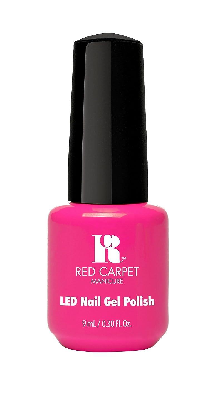 乗り出すフラスコ広大なRed Carpet Manicure - LED Nail Gel Polish - Fuchsia Dreams - 0.3oz/9ml