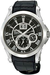 Seiko - Reloj Automático para Hombre con Correa de Piel – SNP093P2