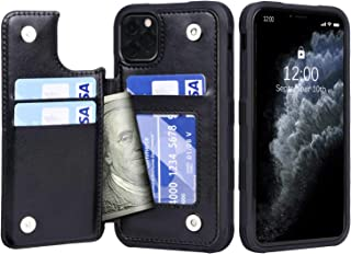 Migeec iPhone 11 Pro Case with Card Holder - Wallet Case [Shockproof] with PU Leather Card Pockets Flip Cover for iPhone 1...