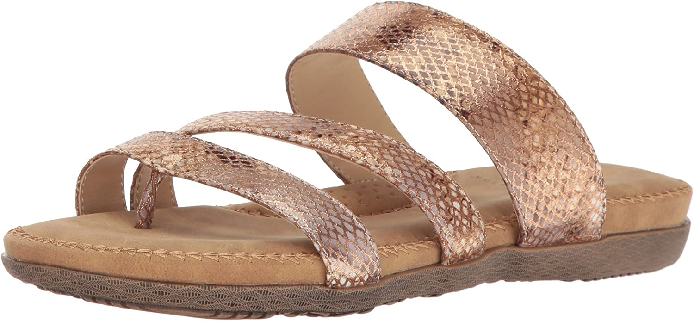 Volatile Womens Sheyla Flat Sandal