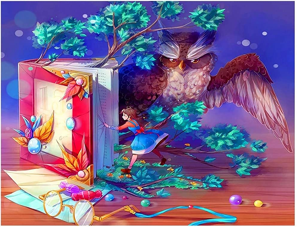 DIY 5D Diamond Painting Kits Full Owl Drill Picture Kid Adults Max 48% OFF K Our shop most popular