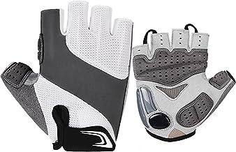 Lingge Cozy Fietshandschoenen, halfvingers, antislip en schokabsorberende mountainbike-handschoenen, fietshandschoenen voo...