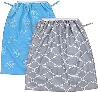 K.T. FANCY 2 Pack Reusable Diaper Pail Liner Wet Bag for Cloth Diaper,  Laundry,  Kitchen Garbage