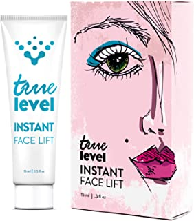 True Level Instant Face Lift Cream Remove Wrinkles Fine Lines Eye Puffiness (0.5 oz / 15 ml)