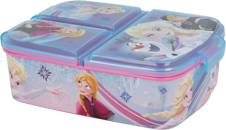 Stor SANDWICHERA con Compartimentos   Varias LICENCIAS Disponibles (Disney, Frozen, LOL, Patrulla Canina…)