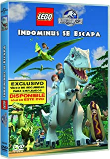 Jurassic World Lego: Indominus Se Escapa DVD