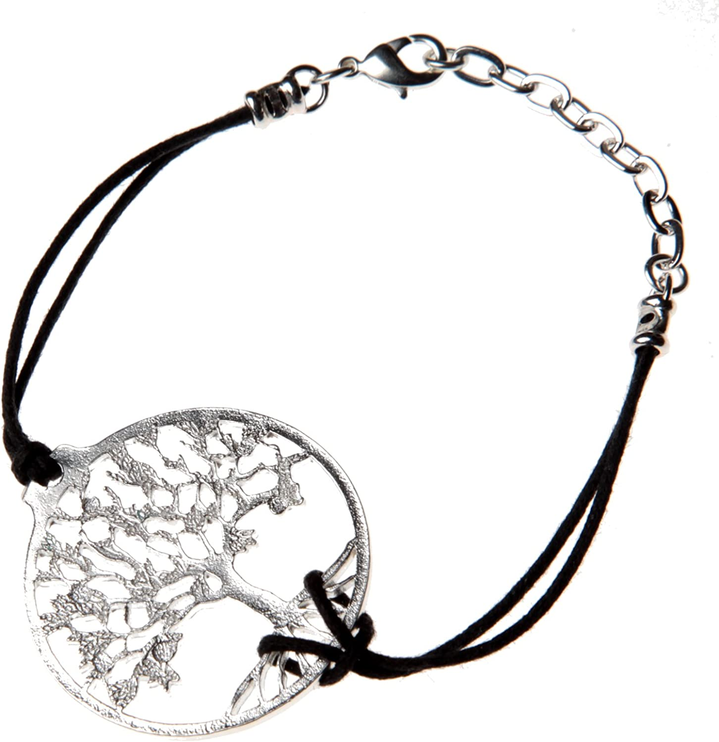 From War to Peace Tree of Adjustable Life Silver 店内限界値引き中 セルフラッピング無料 Bracelet テレビで話題 Dipped