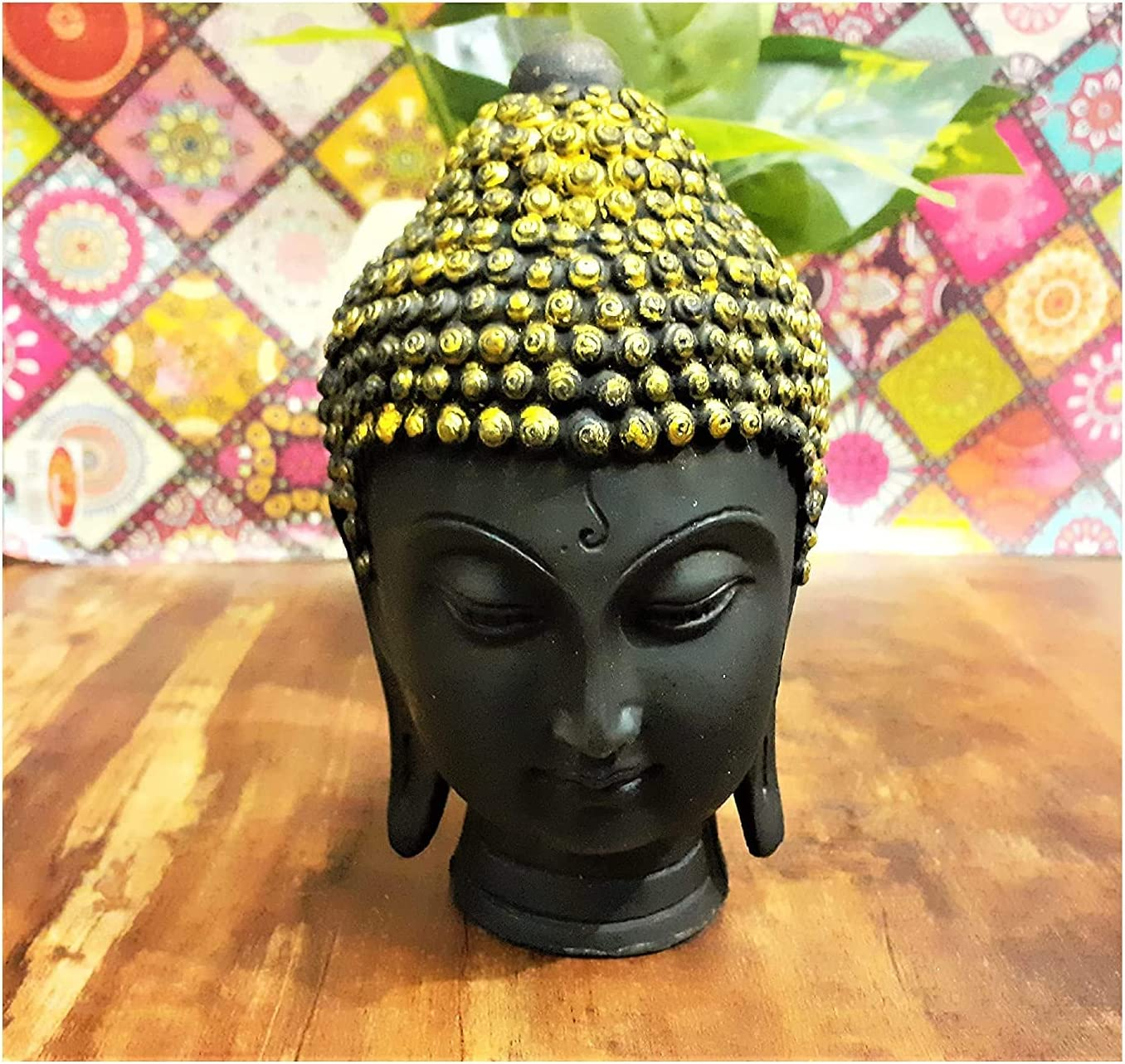 Limited Cheap super special price price Renown Streets Handmade Poly Resin Buddha Decor II Figurine Head