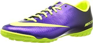 Mens Nike Mercurial Victory IV Turf Soccer Shoe Electro Purple/Black/Volt