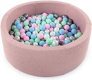 huyiko 5.6cm 200pcs Balle Molle en Plastique Color/é Balle Marine Jouet De B/éb/é Enfants Jouet De Puits De Natation