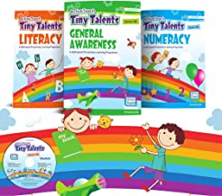 Activity Books for Kids to Practice Number, Patterns, and Shapes   Tiny Talents   4-6years (UKG)   By Pearson