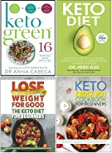 Keto-Green 16, Keto Diet, The Keto Diet for Beginners, The Keto Crock Pot Cookbook For Beginners 4 Books Collection Set