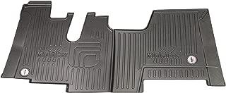 MINIMIZER Floor Mats; Kenworth T600 2006-2007; Kenworth T660 2007-2017; Kenworth T800 2006-2019; Kenworth W900 2006-2019 (Sleeper & Extended Day cabs w/auto Transmission); Part #100890