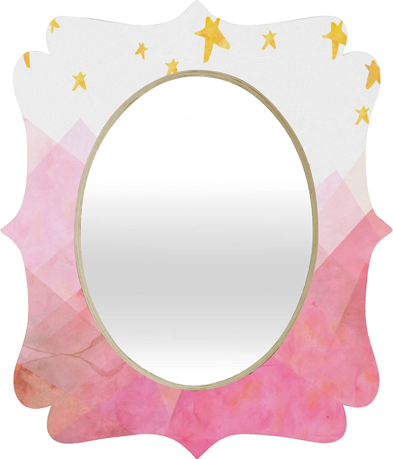 Deny Designs Hello Sayang Baroque Mirror, You Mustn't Be Afraid to Dream a Little Bigger Darling