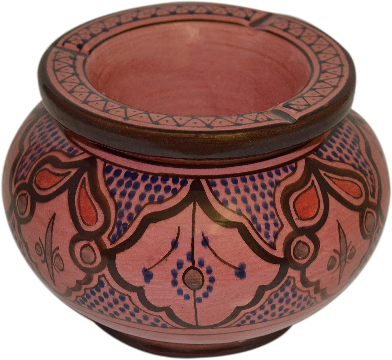 Moroccan Handmade Two-piece Trust Ashtray Max 43% OFF Ceramic