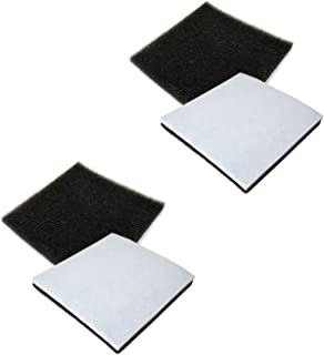 HQRP 4-Pack Foam Filter Compatible with Kenmore 116.21714/21714, 116.21514/21514, 116.21614/21614, 116.23613/23613 Canister Vacuum