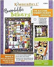 Kimberbell Designs: BROOMHILDA's BAKERY Embroidery CD & Book KD804
