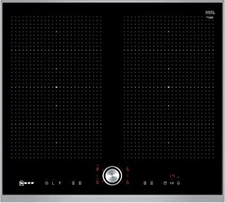 Preis-Leistungs-Sieger Neff T56TT60N0 Induktionskochfeld N70 / 60cm / TwistPad / FlexInduction / PowerMove / Glaskeramik / Edelstahlrahmen