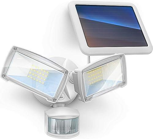 wholesale Home Zone Security Motion Sensor Outdoor popular Light - high quality Solar Outdoor Weatherproof 6000K LED Solar Security Flood Light online