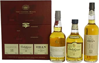 Oban - The Classic Malts Collection Gentle 3 x 20cl Bottles - Whisky