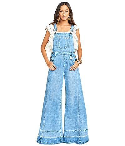 Show Me Your Mumu San Fran Overalls (Carolina Blue) Women