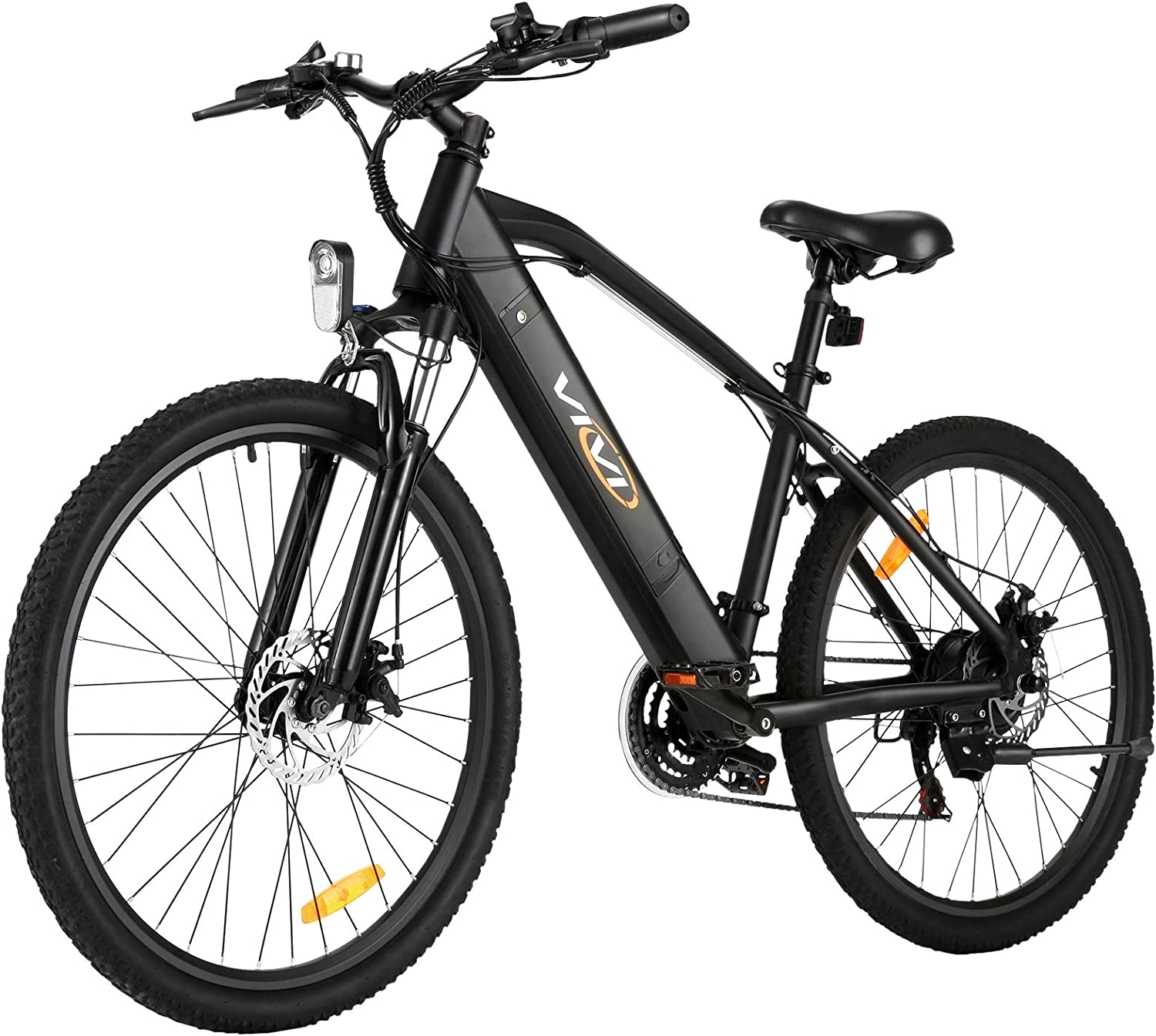 """Amazon.com : Electric Bike for Adult, Vivi 26"""" Electric Mountain Bikes 250W/350w Motor Electric Bicycle for Adults, E-Bike for Men & Women, Professional Shimano 21 Speed Gears with Removable Lithium-Ion Battery :"""