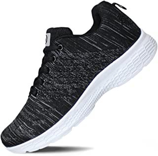 Hawkwell Women's Running Shoes Knit Breathable Lightweight Athletic Walking Sneaker
