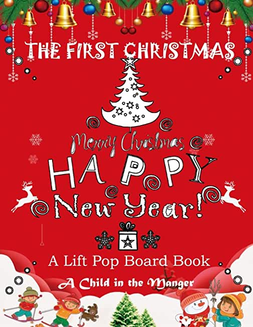 The First Christmas:A Lift Pop Board Book: The Child in the Manger christmas coloring book for kids dream publishing