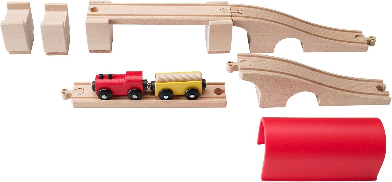 IKEA LILLABO train set (bridge tunnel) 12 Piece (30,168,149) (japan import)