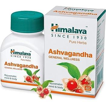 Himalaya Ashwagandha Pure Herbs General Wellness Tablets - 60 Count