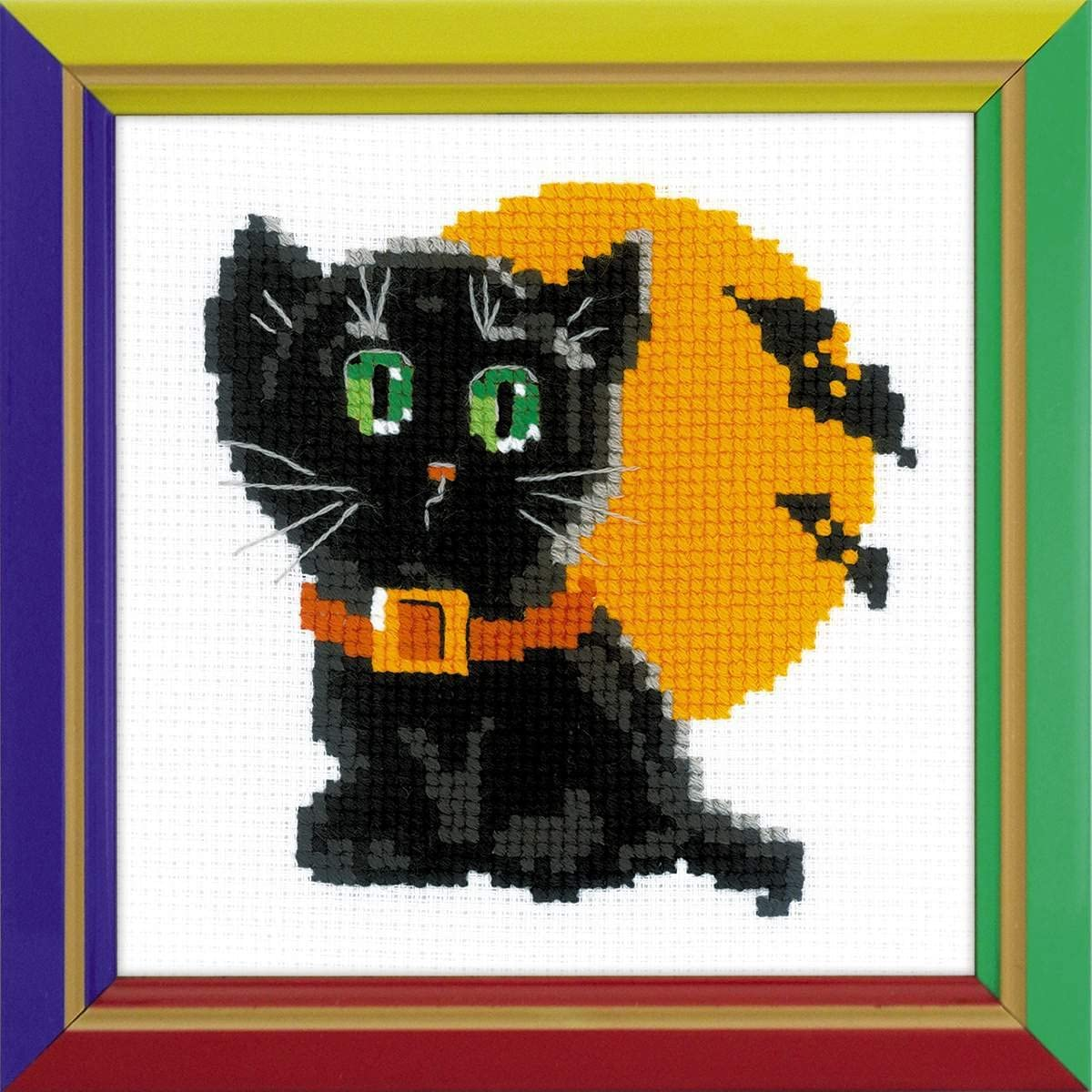 RIOLIS Large-scale sale Counted Cross Stitch Kit 10 Ranking TOP1 Count Cat 6
