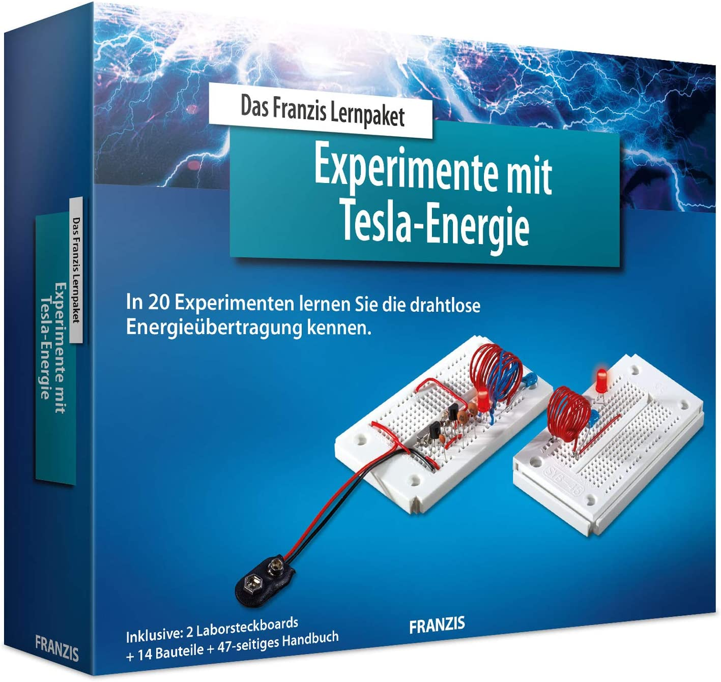 Franzis 8 Experimente mit Tesla Energie, 8 Projekte, 8 ...