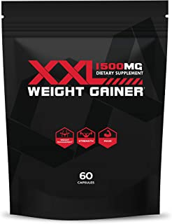 Gluteboost - ThickFix XXL (1500 Mg) - All-Natural, Plant-Based Weight Gainer and Appetite Stimulant - Curve and Muscle Enh...